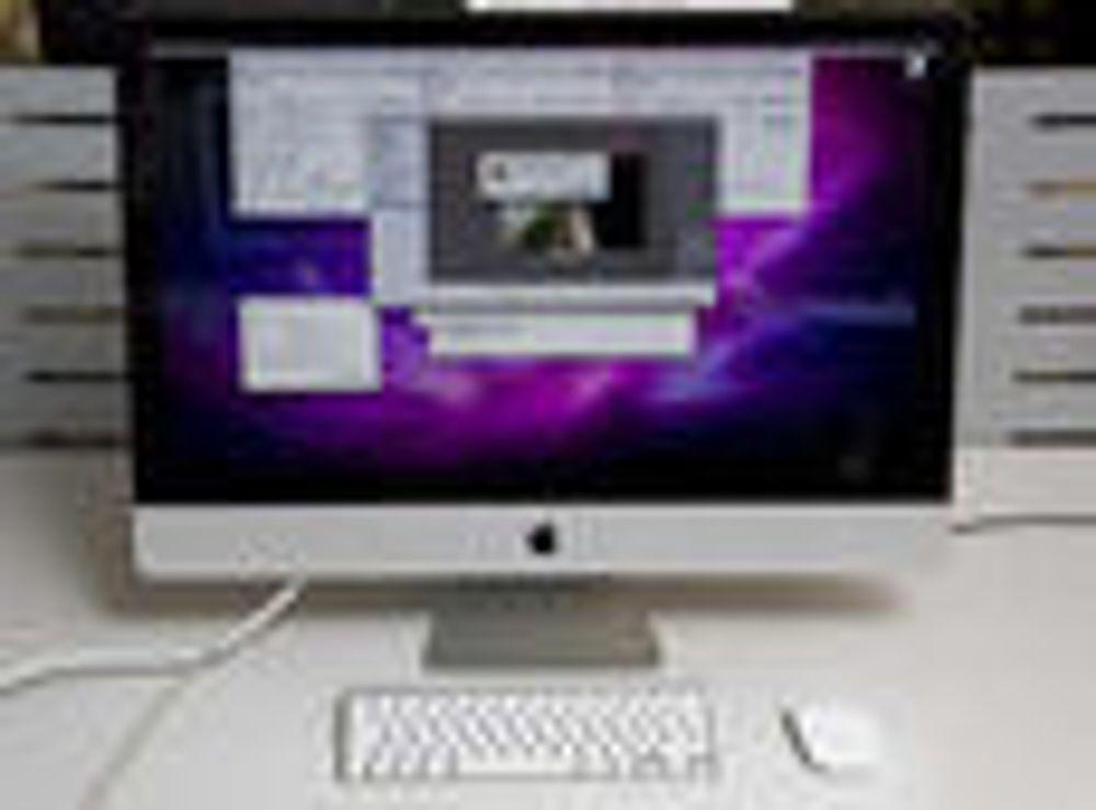 - iMac kan ta 50% av stasjonær-markedet