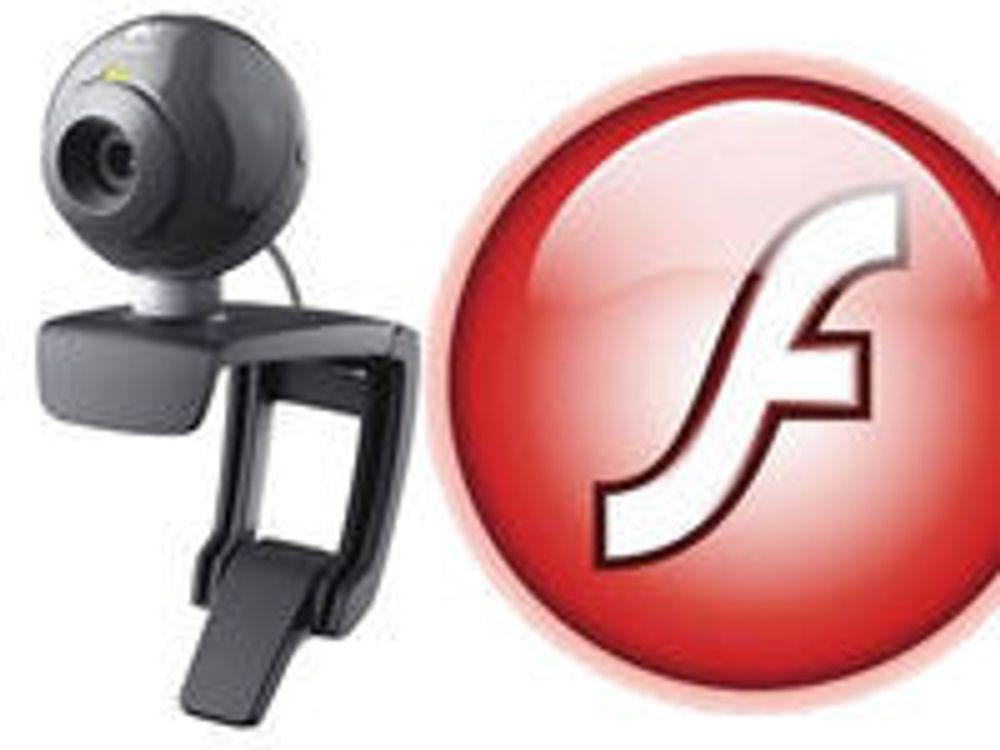 Enkelt å spionere på brukere med webkamera