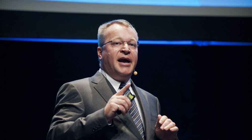 Stephen Elop, toppsjef i Nokia, leverte resultater for tredje kvartal torsdag. Aksjekursen steg kraftig, selv om det var kjedelige tall som ble presentert.