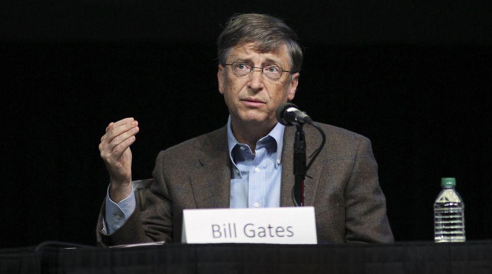 Bill Gates vitnet i antitrust-saken til Novell mot Microsoft. Her fotografert ved en annen anledning i november 2011.