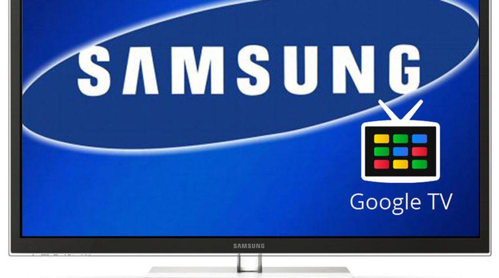 Det er ikke utenkelig at Samsung lanserer tv-modeller med Google TV-programvaren i 2012.