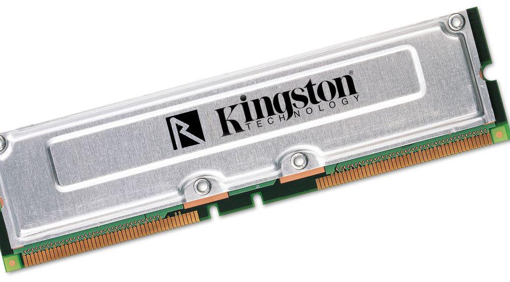 Kingston er blant selskapene som leverer minneprodukter basert på Rambus-teknologi.