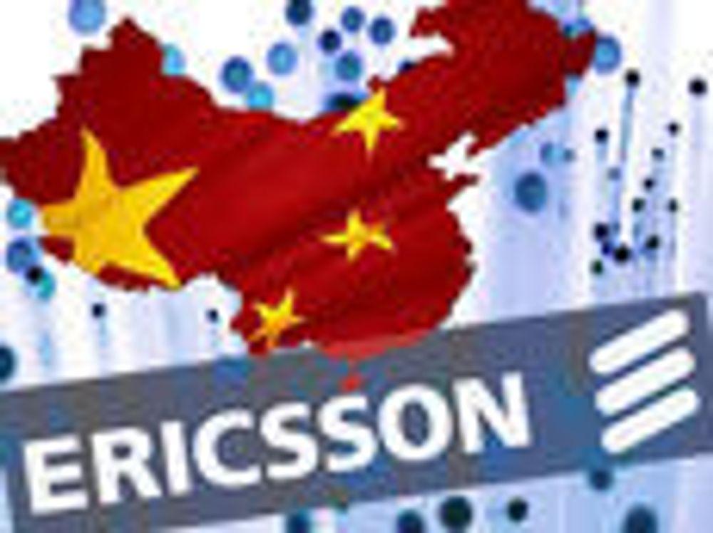 Ericsson legger fiber i Kina