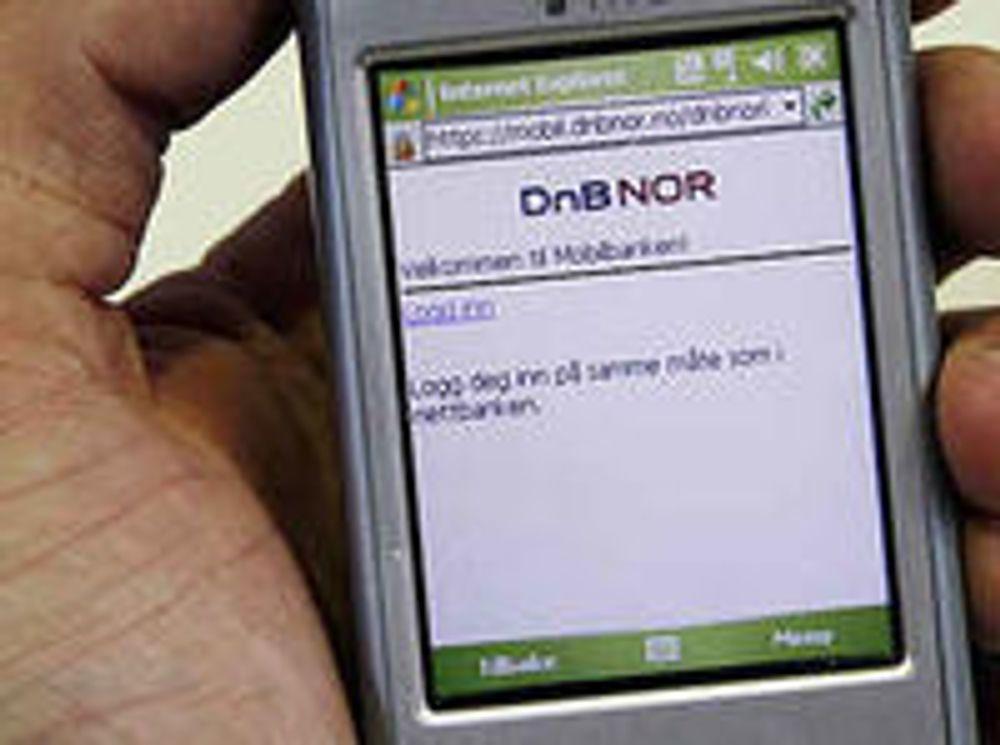 Banktjenester over SMS kan betraktes som et forenklende supplement til mobilbank.