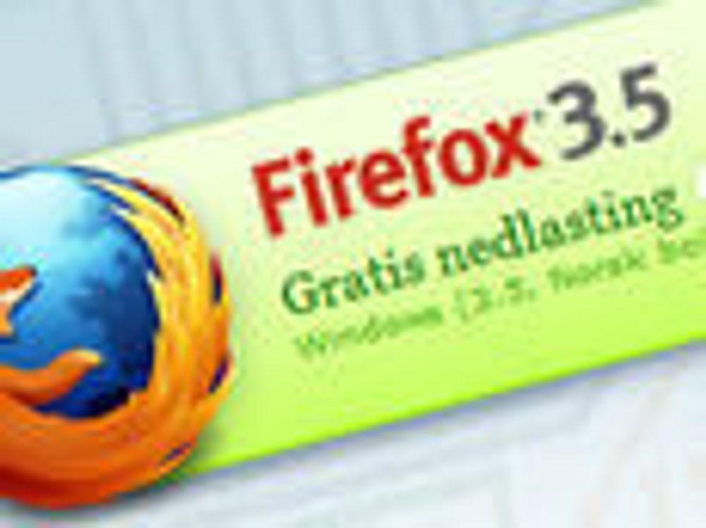 Last ned Firefox 3.5 nå