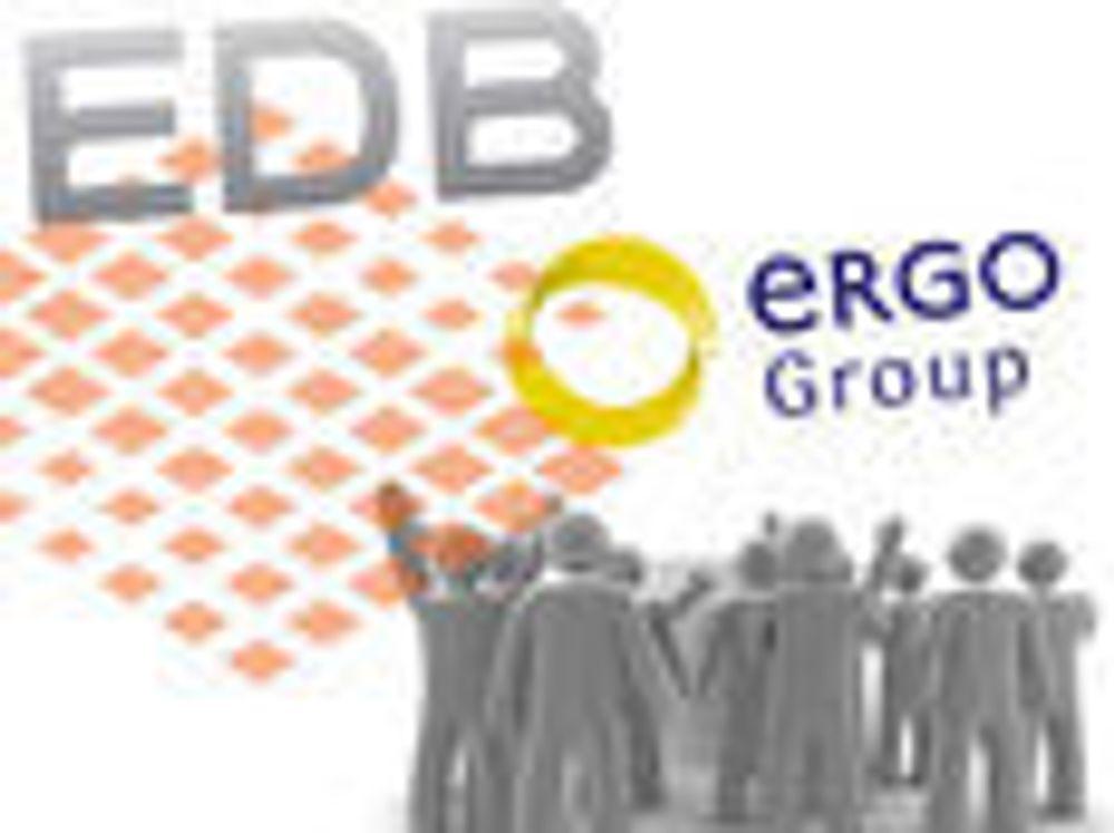 EDB Ergogroup i pluss i første kvartal