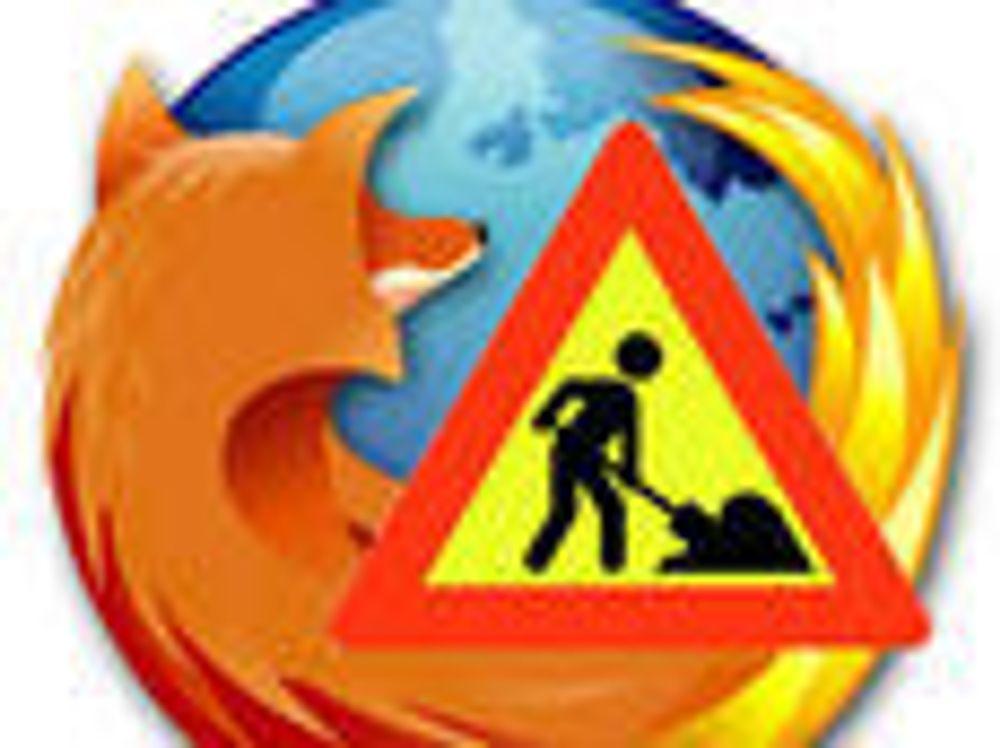 Firefox blir raskere