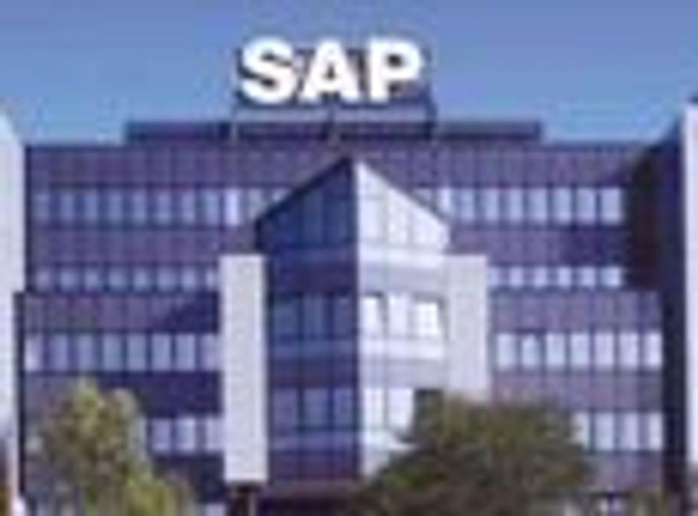 SAP økte mindre enn ventet