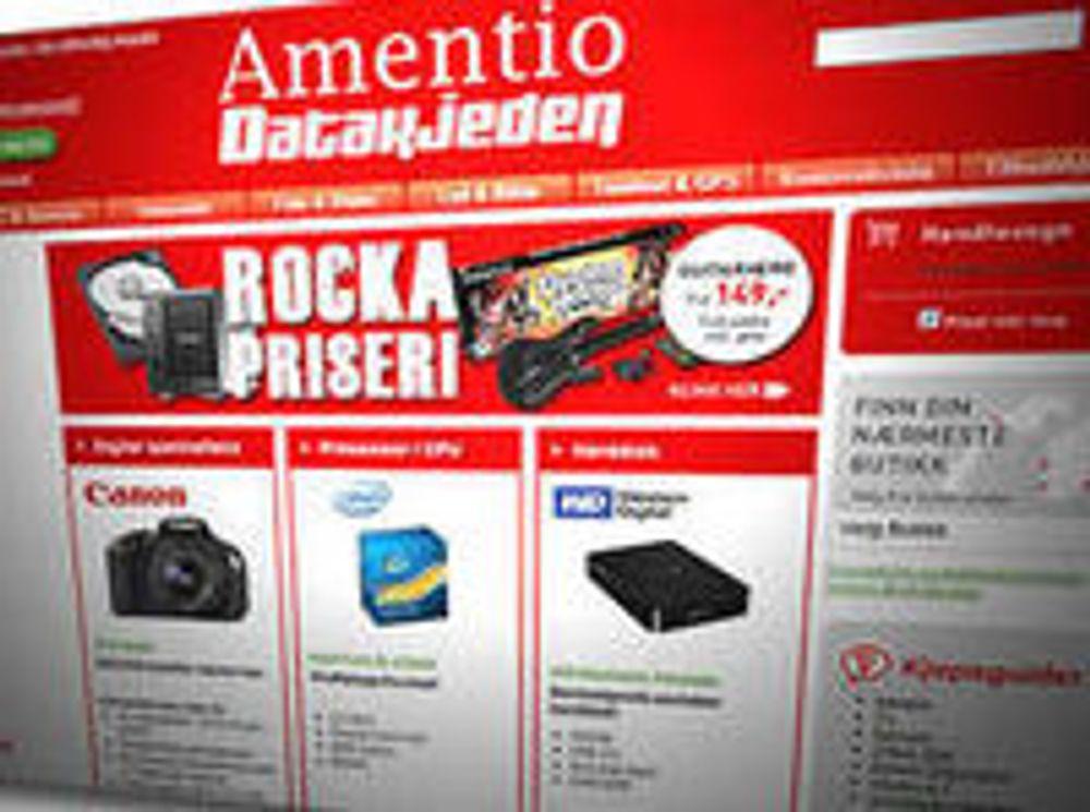 Amentio Datakjeden er konkurs