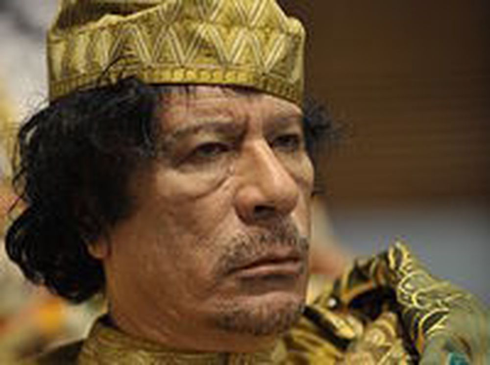 Hacket Gaddafis mobilnett