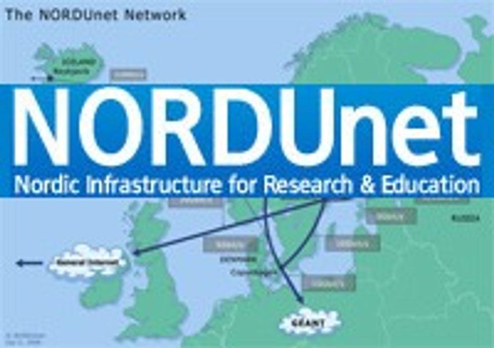 Økt fart for nordisk forskningsnett