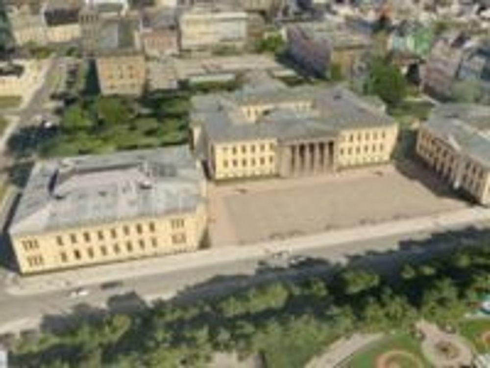 Blom3D-modell av Universitetet i Oslo