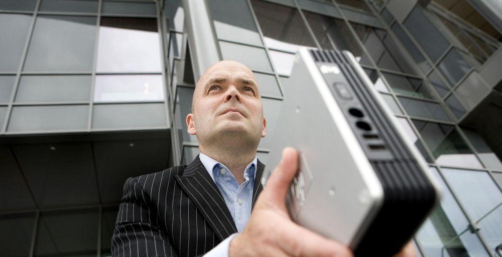 I 2008 sa 8 prosent av norske IT-sjefer at de måtte kutte i IT-budsjettet. I 2009 er andelen 14 prosent. En beskjeden økning, mener Anders Lindgren i Steria Norge. (Foto: Johnny Syversen / josy.no)