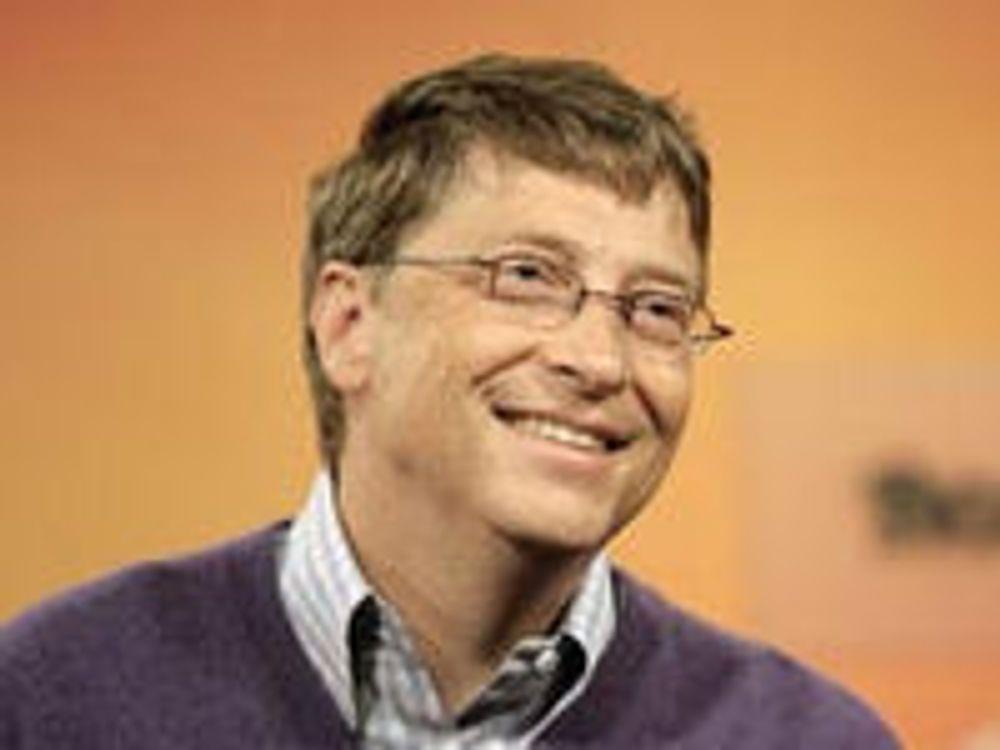 Bill Gates kommer til Norge