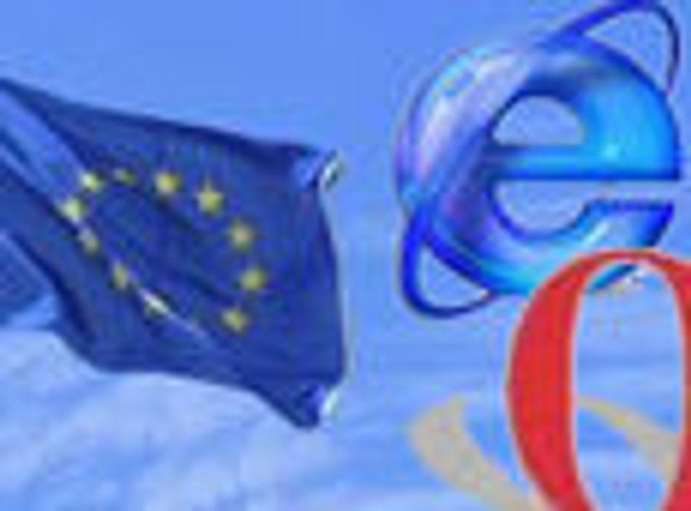 Microsoft trekker seg fra EUs IE-høring