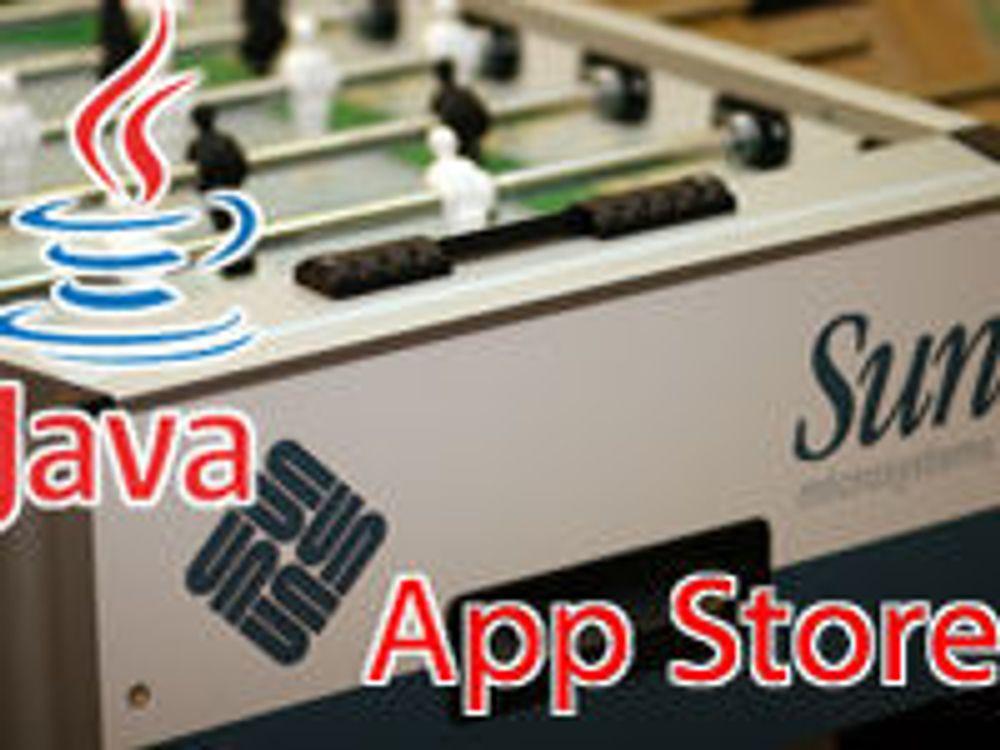 Bygger «App Store» for Java
