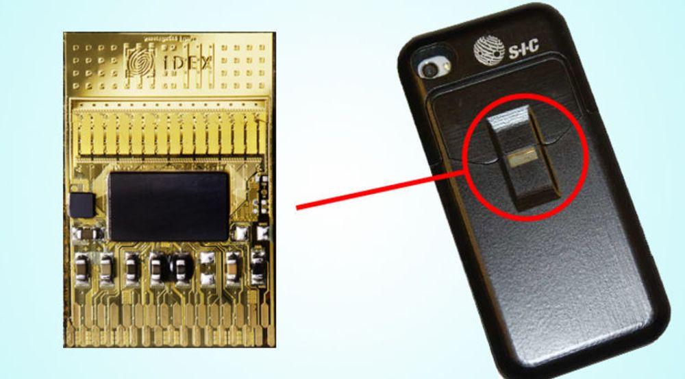 SIC vil bruke fingeravtrykkssensoren til norske Idex i en ny løsning for iPhone 4.