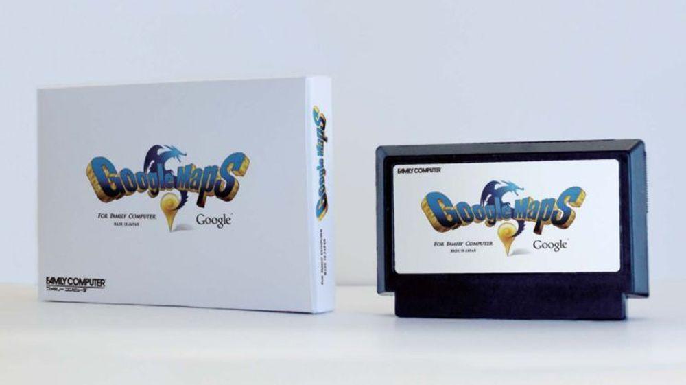 Modulen som skulle kunne gi NES tilgang til 8-bit-versjonen av Google Maps.