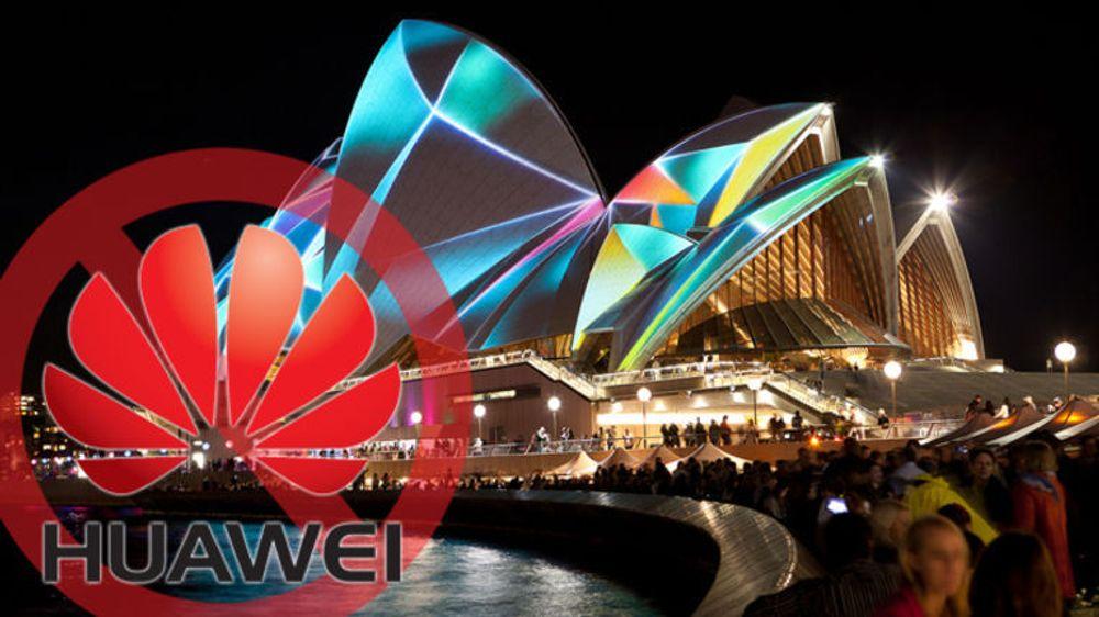 Huawei får ikke levere utstyr til Australias nasjonale bredbåndsløft. Her fra landets velkjente landemerke, Operahuset i Sydney.