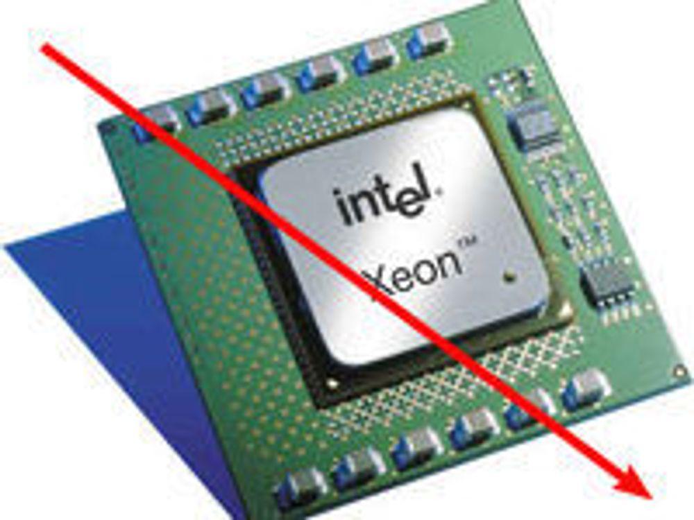 Omsetningssvikt truer Intels lønnsomhet