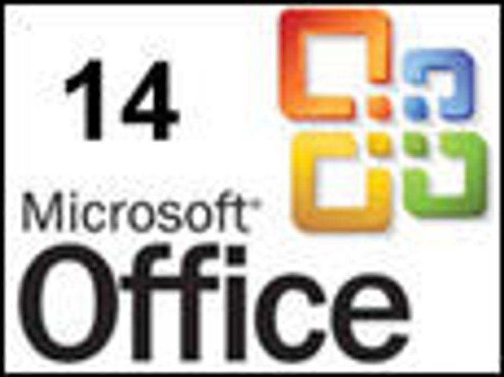 Neste Microsoft Office begynner å ta form
