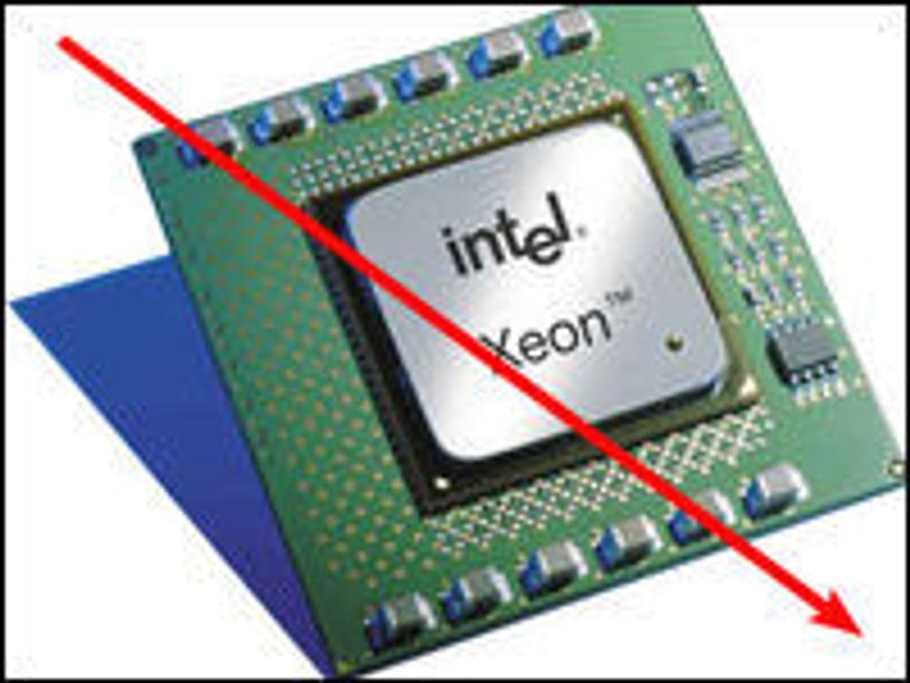 Intel-prosessorer blir billigere
