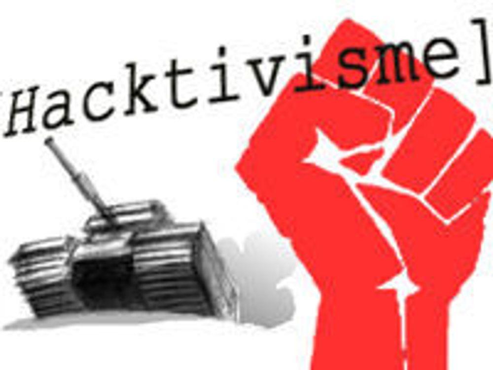 Spår bølge av politisk nettsabotasje