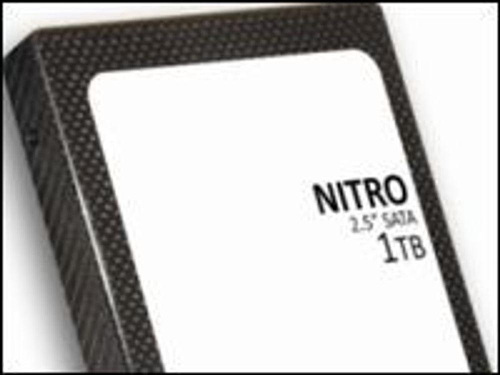 PureSilicon Nitro med 1 terabyte lagringsplass.