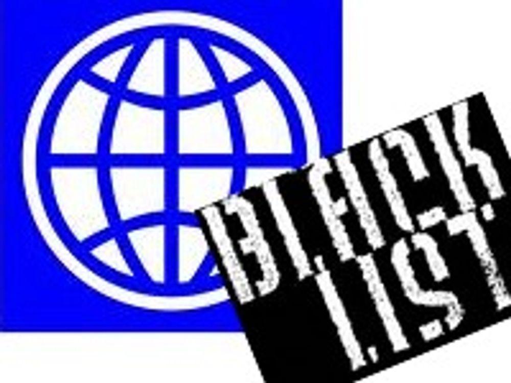 Verdensbanken svartelistet indisk IT