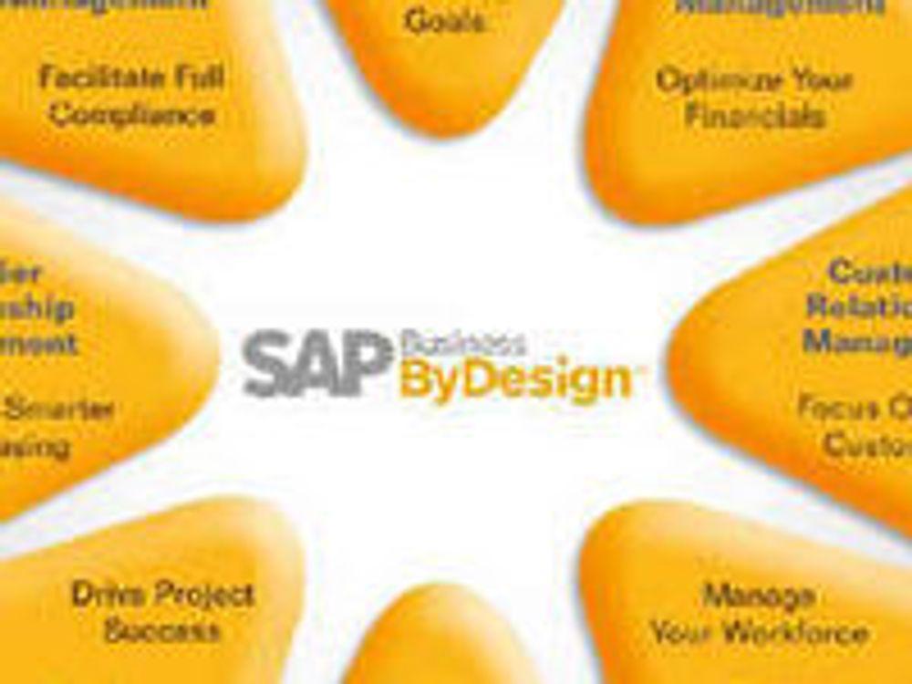 SAPs SaaS-produkt er SOA-basert. Flere av modulene går igjen i andre produkter.