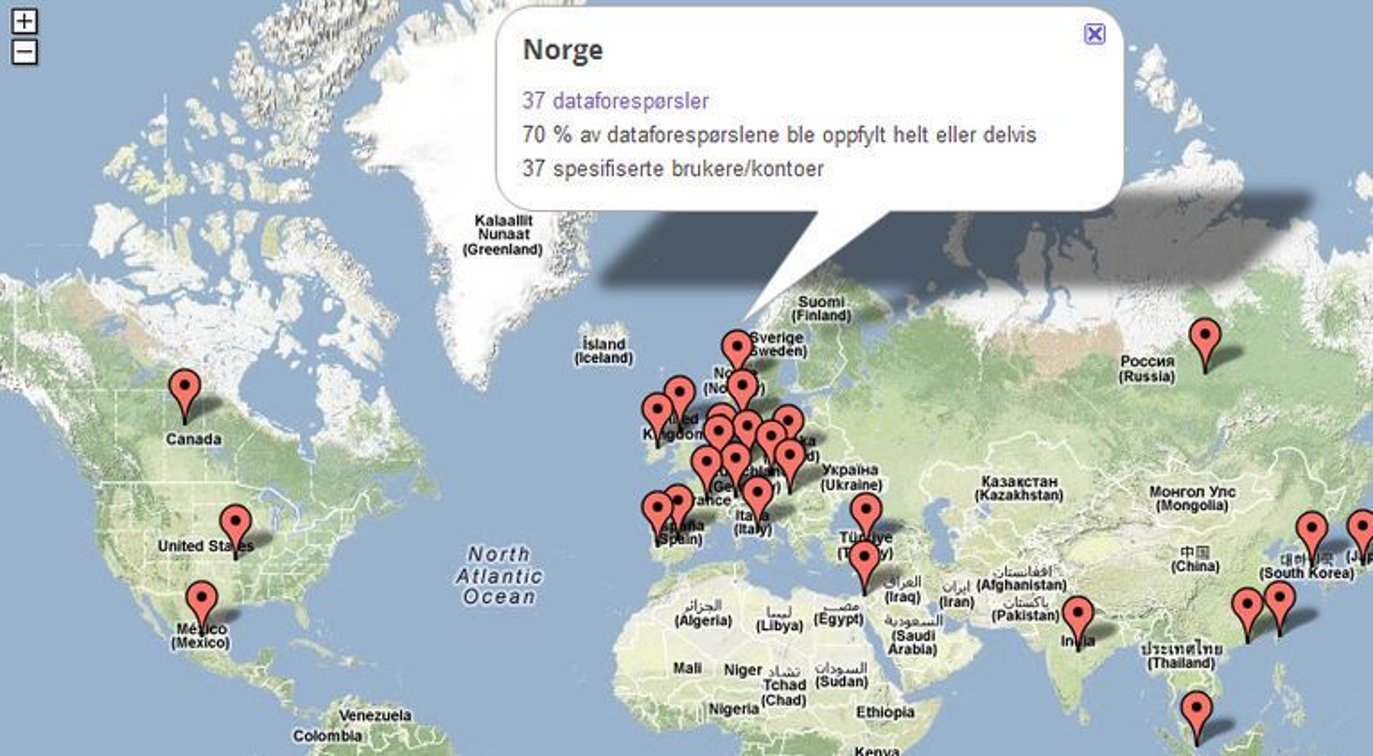 kart over tyrkia google Norge ba om innsyn i 37 Google kontoer   Digi.no kart over tyrkia google