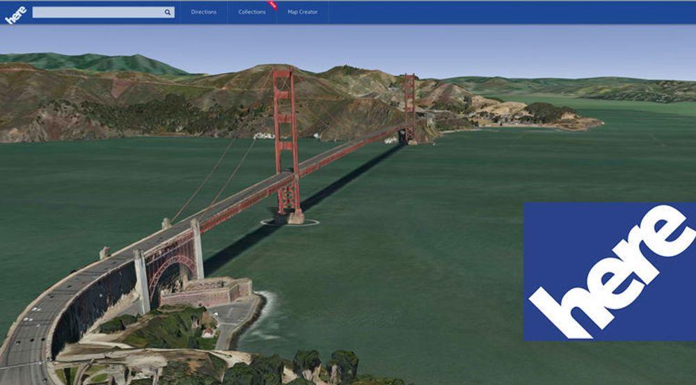 3D-visning av bygninger og landemerker skal være en viktig del av Nokias Here-tjeneste.
