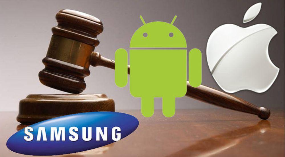 Apple og Samsung kjemper mot hverandre i domstoler i en rekke land, inkludert Storbritannia, Tyskland og USA.