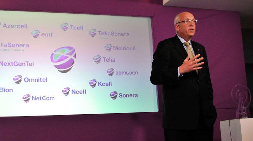 TeliaSoneras toppsjef, Lars Nyberg, kunne onsdag presentere skuffende tall for andre kvartal. Trøsten er at resultatene for selskapets virksomhet i Øst-Europa, Russland og Tyrkia går meget bra mens mobilinntektene faller - også i Norge.