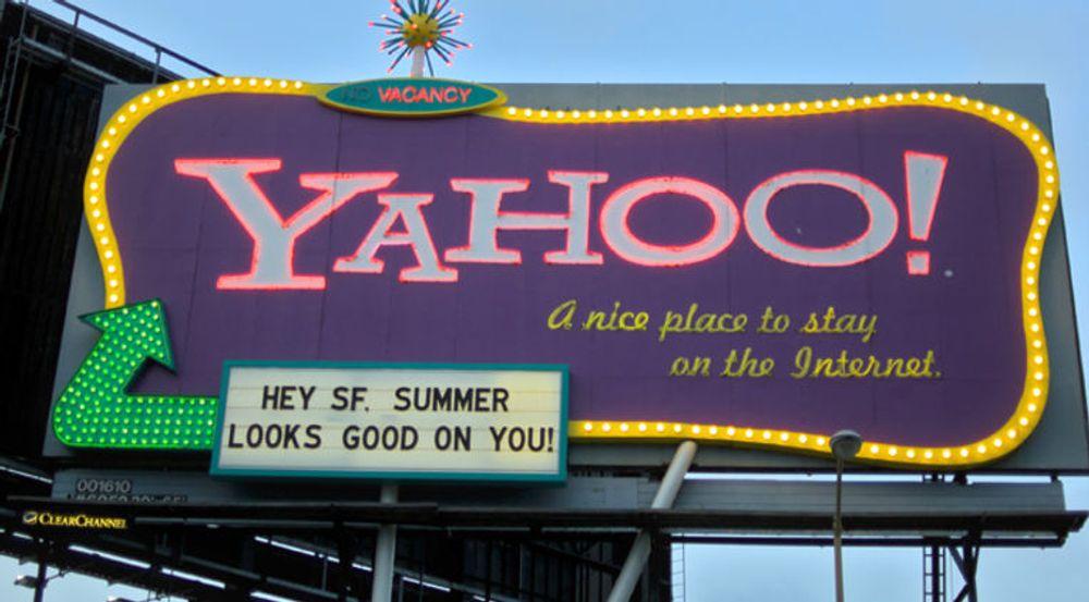 Det var liten grunn til å bryte ut i et spontant Yahoo! for den tidligere så dominerende nettportalens kvartalsresultater. Tallene viser at selskapet ikke klarer å henge med i konkurransen med Google og Facebook.