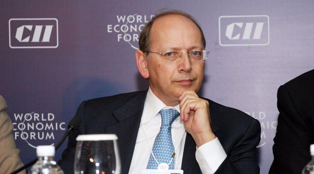 Ben Verwaayen overtok toppstillingen i Alcatel-Lucent etter Patricia Russo i september 2008. Bildet er fra 2007-toppmøtet til Verdens økonomiske forum i India.