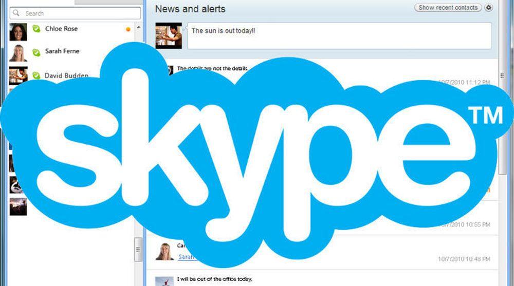 Flere Skype-brukere mener at feilen som nå rammer enkelte Skype-brukere, kan få alvorlige følger, siden meldinger som sendes kan havne i feil hender.