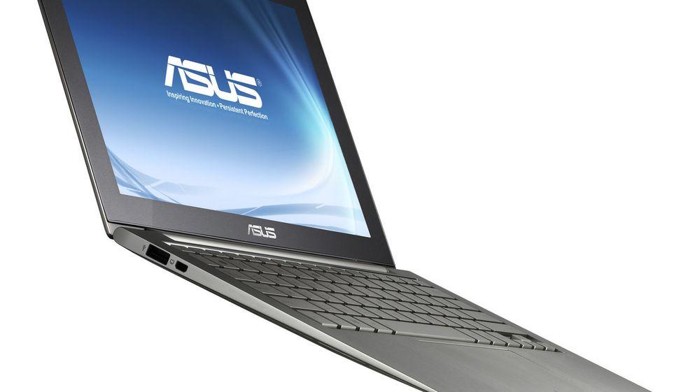 PC-leveransene til Asus har vokst kraftig det siste året, men det skyldes ikke høy etterspørsel etter ultrabooks som denne.