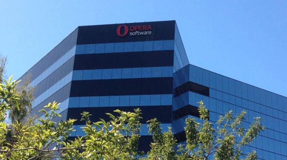 Opera utvider i USA. Her fra det nye kontoret i Silicon Valley.