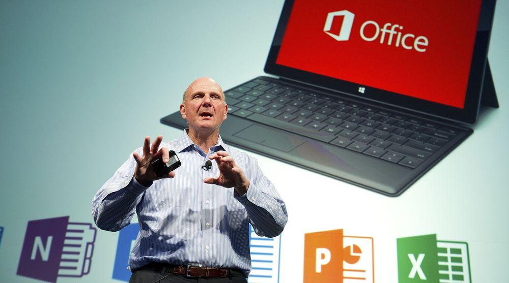 Microsoft-sjef Steve Ballmer visste at lanseringen av nettbrettet Surface kunne skape misnøye blant deres pc-partnere.