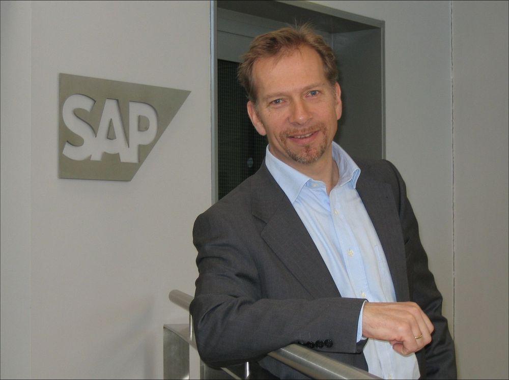 Tom Olberg, direktør for SAPs SMB-satsning i Norge.
