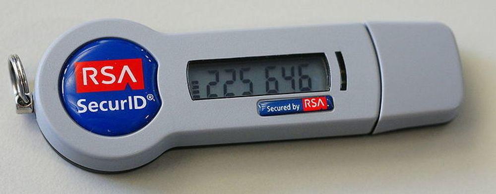 RSA SecurID i ny utgave, med USB-utgang.