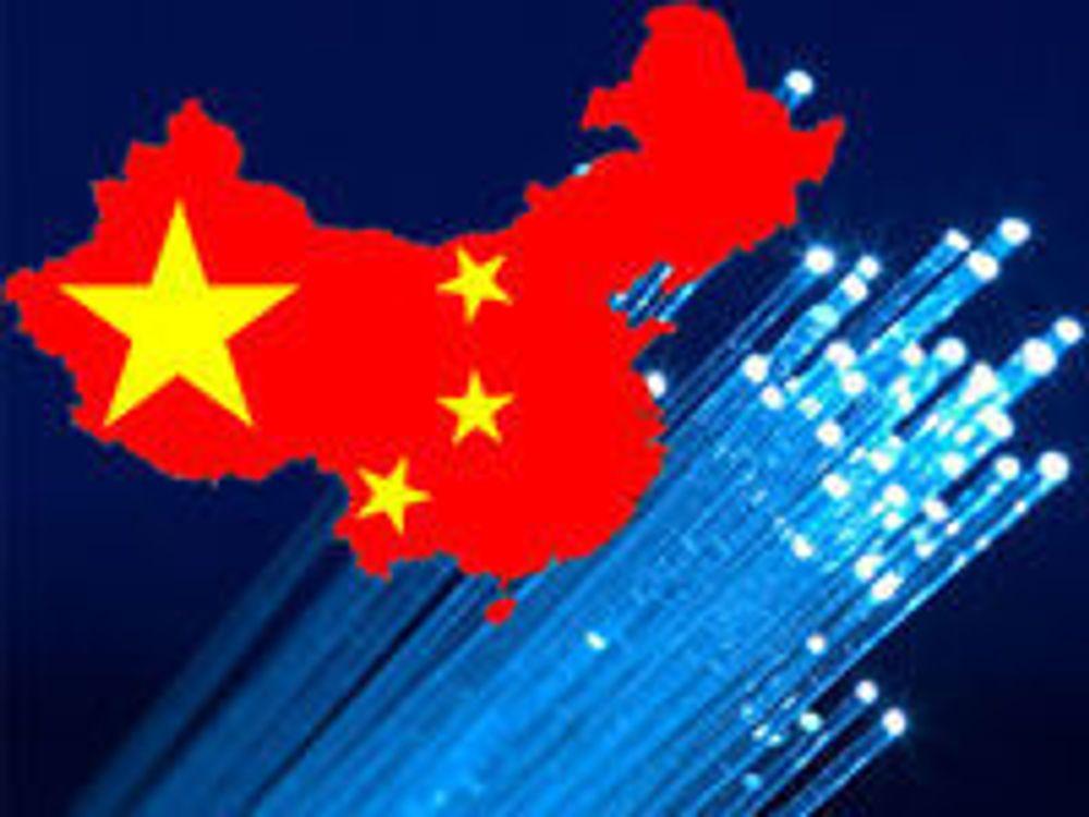 Kina satser beinhardt på bredbånd