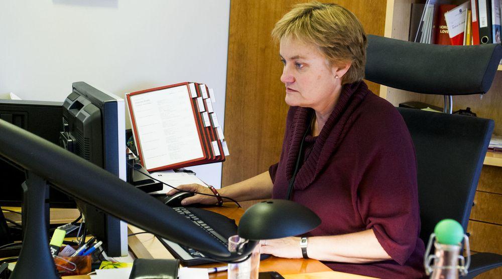 Rigmor Aasruds eget departement scorer lavt på bruk av forskningsmidler. I dag finnes ikke kultur for innovasjon i norsk offentlig sektor, skriver Arild Haraldsen.