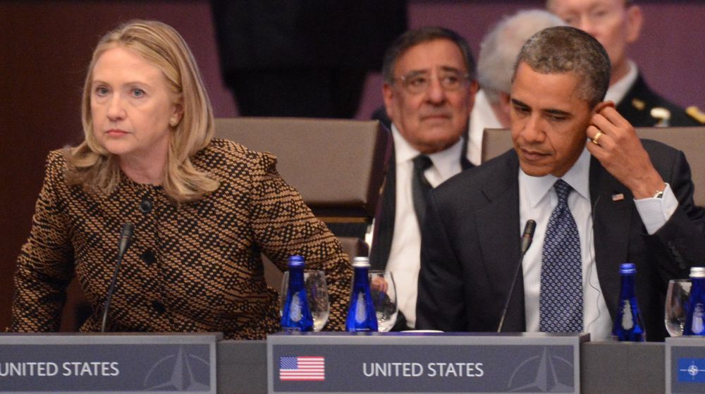Utenriksminister Hillary Clinton og president Barack Obama mobiliserer mot EUs utkast til personvernreform. Amerikanske borgerretts- og forbrukerorganisasjoner heier derimot på Europas forsøk på å styrke personvernet på nett.