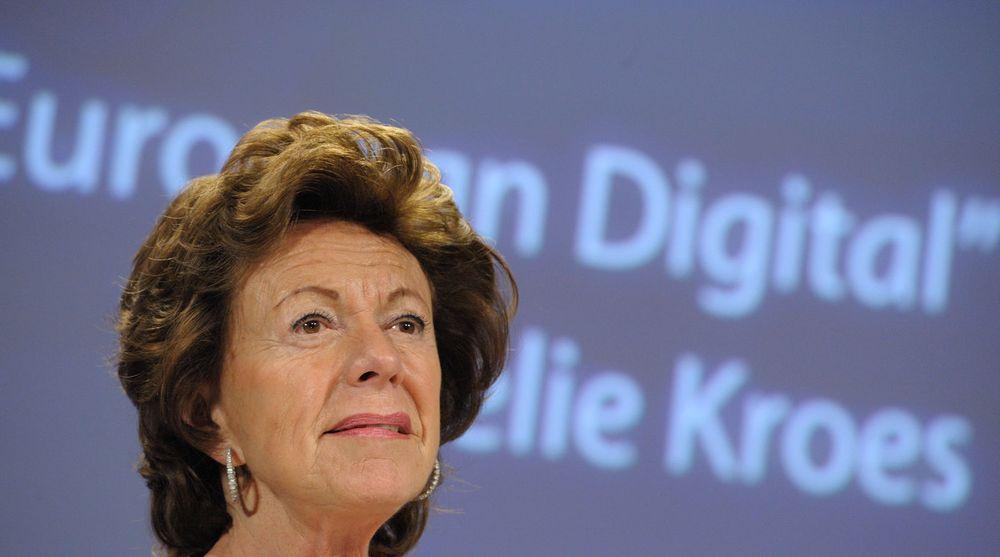 EU-kommissær Neelie Kroes tar grep for å stagge en urovekkende trend: Mens arbeidsledigheten er kraftig økende i Europa så stiger antall ubesatte IT-stillinger.