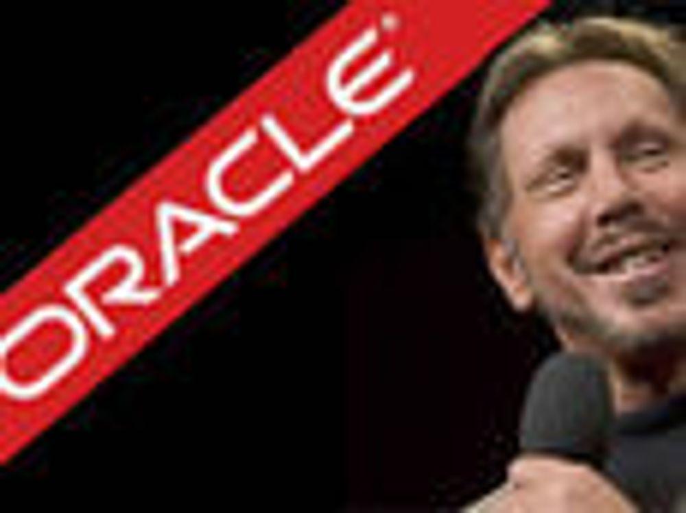 Oracle fosser frem i urolige tider