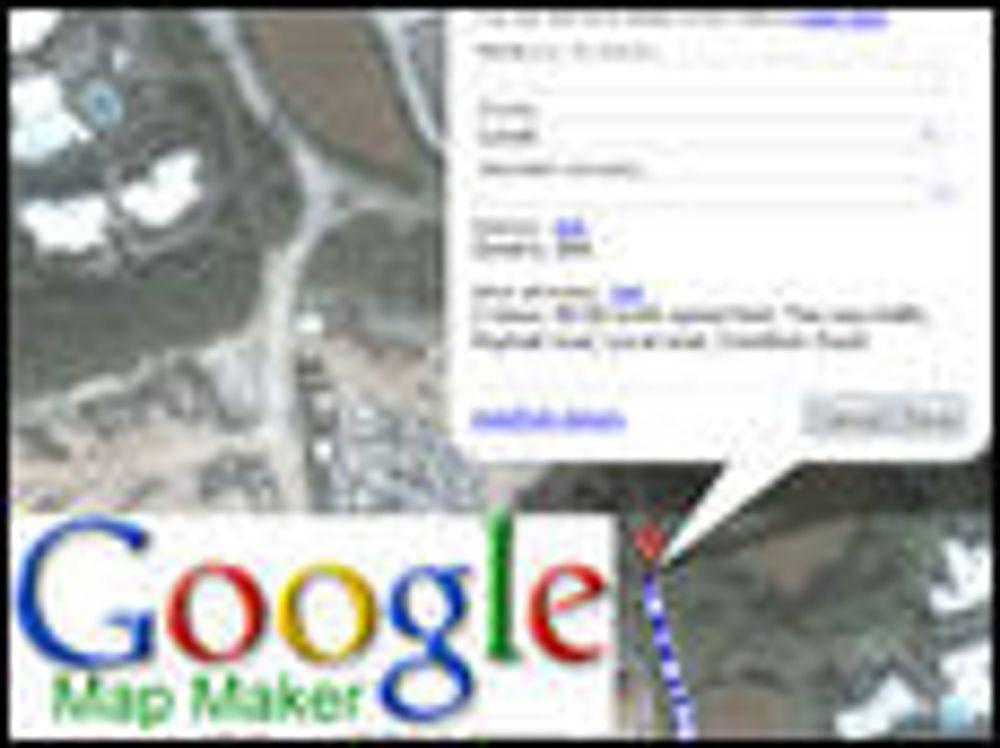 Nå kan brukerne forbedre Googles kart