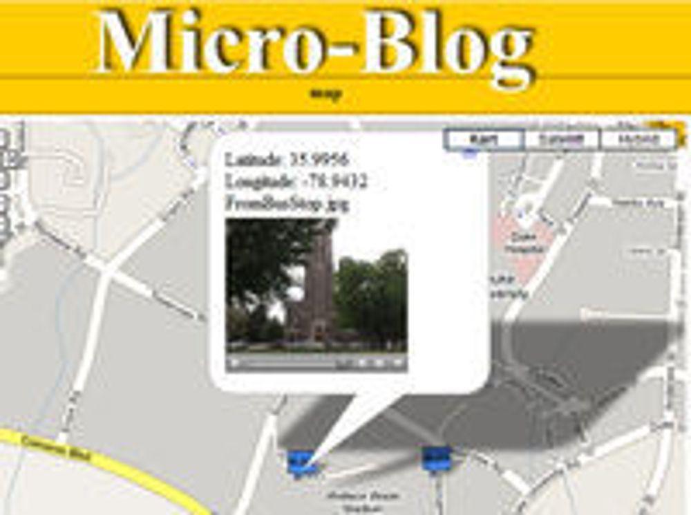 Tror på mobile «mikro-blogger» som ny mote