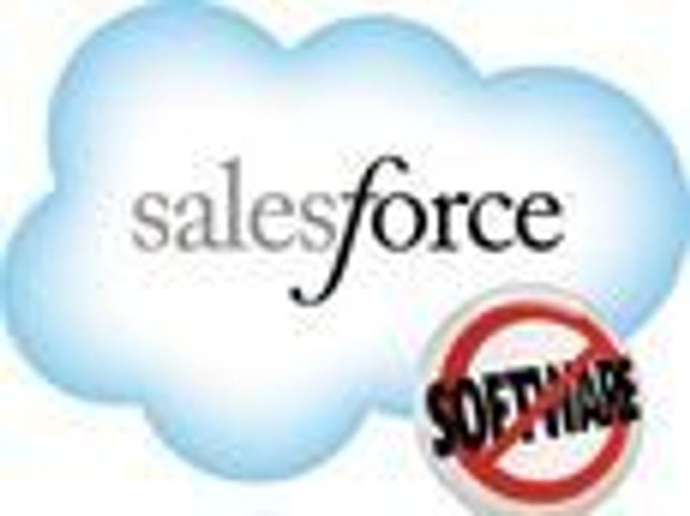 Sterk  kundevekst for Salesforce.com